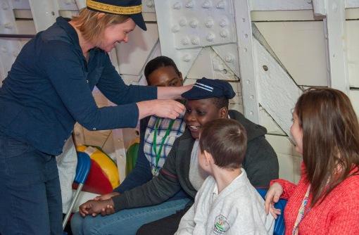 Special Educational Needs Drama Performance on Cutty Sark, Tween decks.